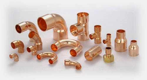 Difference between copper pipe and pvc pipe for Copper to plastic fittings