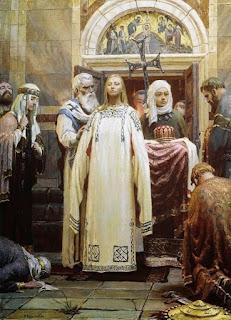 قصة الأميرة أولغا التي قتلت وحرقت مدينة بأكملها إنتقاما لزوجها!