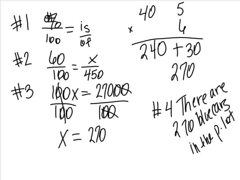 Mrs. White's 6th Grade Math Blog: RATIOS AND PERCENTS