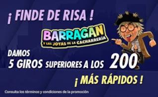suertia promo gratis finde de risa trafalgar hasta 31-1-2021