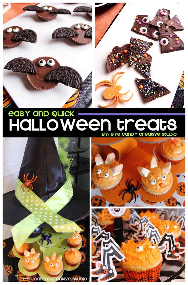 halloween party treats, halloween dessert ideas, kids halloween treats