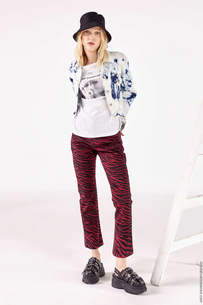Pantalones primavera verano 2020 moda juvenil 2020.