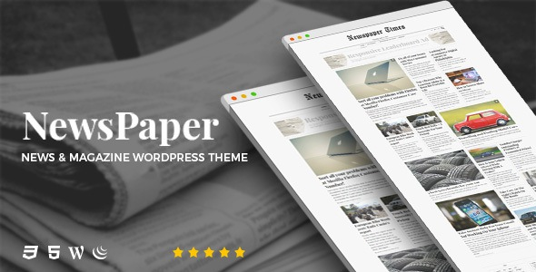 Free premium News & Magazine WordPress Theme download