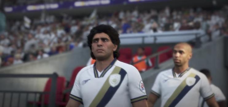 Maradona, Pelé, Ronaldo, Henry... como iconos o leyenda en FIFA 18