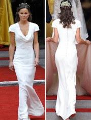 patrón vestido de Pippa Middleton
