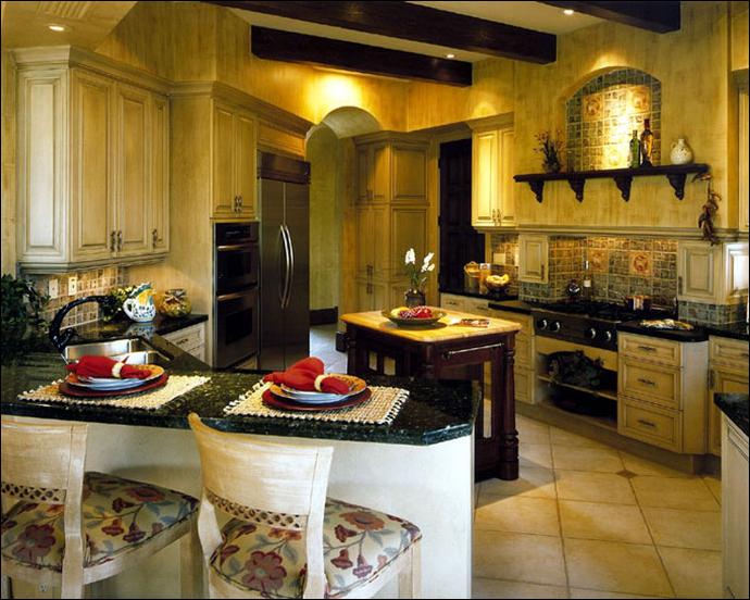 Tuscan kitchen ideas room design ideas Kitchen decor ideas