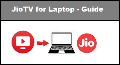 JioTV for Laptop