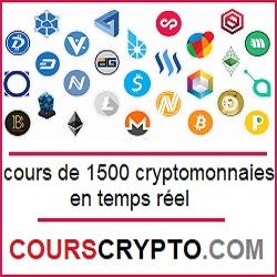 cours cryptos