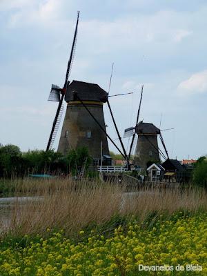 Devaneios - Moinhos na Holanda – Kinderdijk