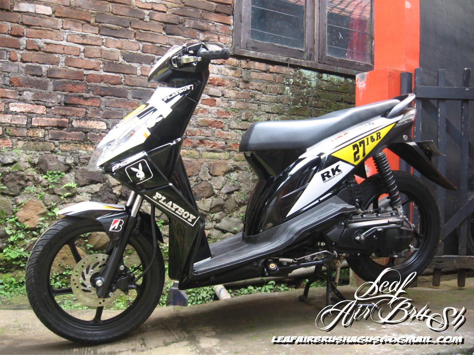 Kumpulan Gambar Foto Modifikasi Motor Honda Beat Terbaru