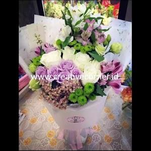 Kertas Buket Bunga / Hand Bouquet Seri LL-060060-Autumn