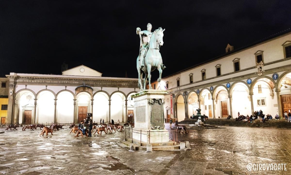 Piazza Santissima Annunziata Firenze
