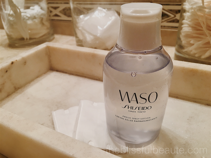 Shiseido WASO Fresh Jelly Lotion Review