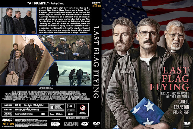 Last Flag Flying DVD Cover
