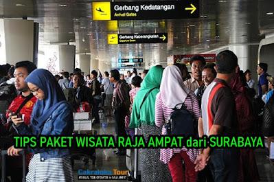Paket Wisata Raja Ampat dari Surabaya