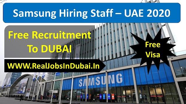 Sales Jobs In Dubai By Samsung Company - UAE 2020