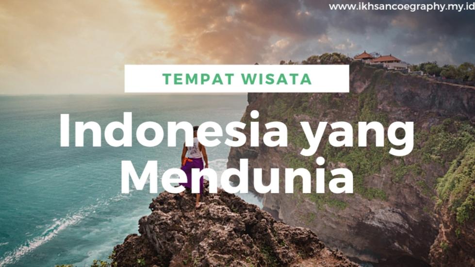 wisata indonesia mendunia