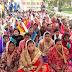 जीविका कैडर एवं दीदीयों का एकदिवसीय धरना-प्रदर्शन
