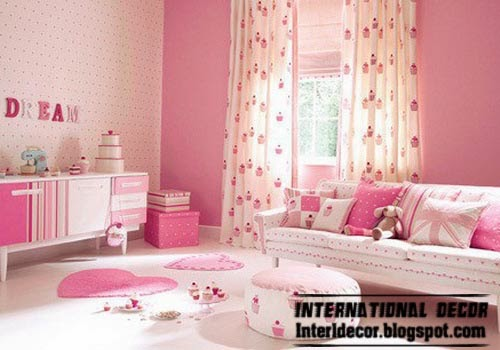 Pink S Bedroom Ideas 2017 And Stylish Curtain Furniture