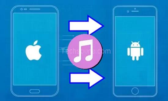 نقل الموسيقى من iPhone إلى Android