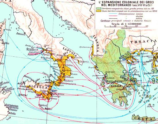Cartina Puglia Grecia.Magna Grecia Nemici Di Roma Romanoimpero Com