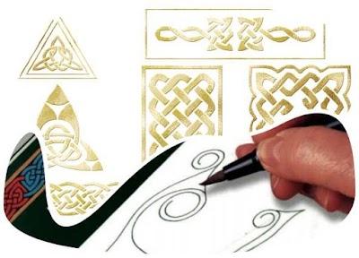 Cómo dibujar patrones Celtas. 3 Manuales prácticos
