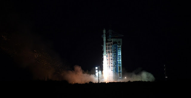Long March 2D launches five satellites on November 20, 2018. Photo Credit: Xinhua