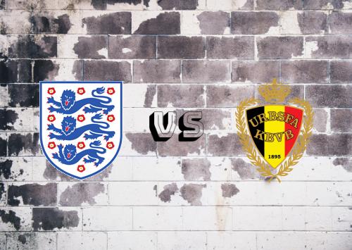 Inglaterra vs Bélgica  Resumen y Partido Completo