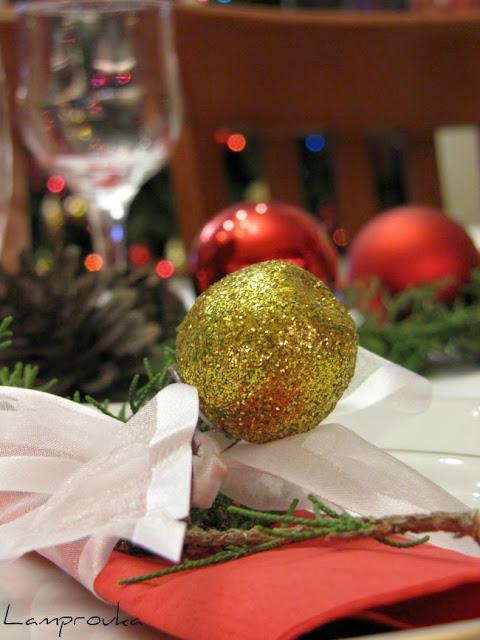 Ιδέες για χριστουγεννιάτικο τραπέζι.