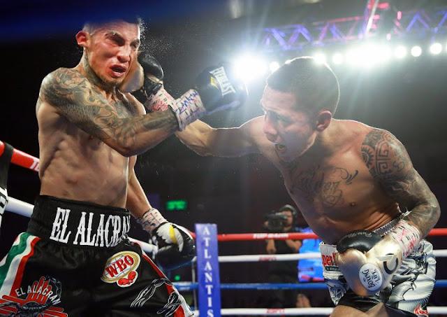 Oscar Valdez Drops And Dominates Jason Sanchez