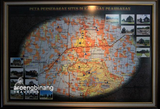 sebaran situs prambanan balai pelestarian peninggalan purbakala BP3 yogyakarta