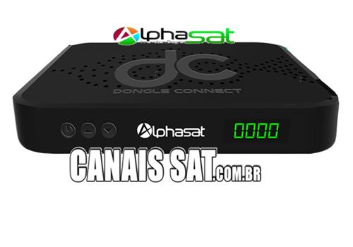 Dongle Alphasat Connect Plus Primeira Atualização V13.01.26 - 26/01/2021