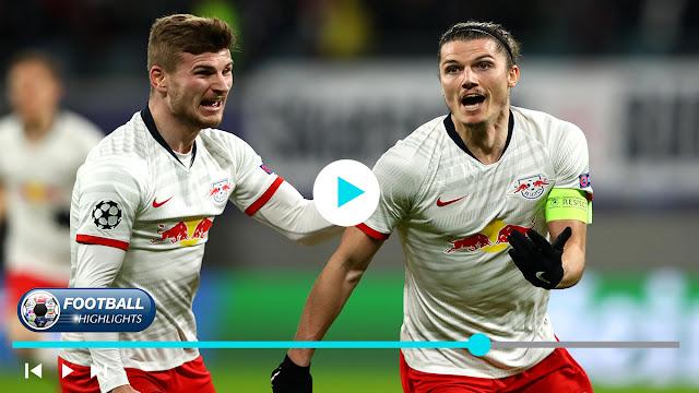 RB Leipzig vs Tottenham Highlights