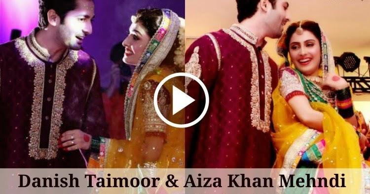 Danish Taimoor and Aiza Khan Mehndi Dance  Barat  Wedding Videos Watch Free All TV Programs