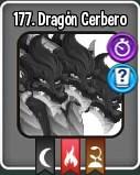 Dragón Cerbero en el libro de dragones