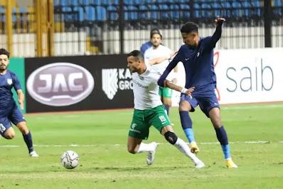 اهداف مباراة المصري وانبي (1-1) الدوري المصري