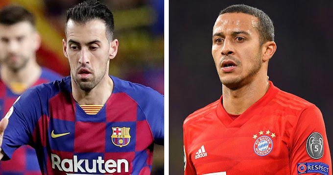 Thiago: Younger midfielders have to look at Busquets if they want to improve.