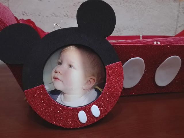 come fare un portafoto di topolino handmade