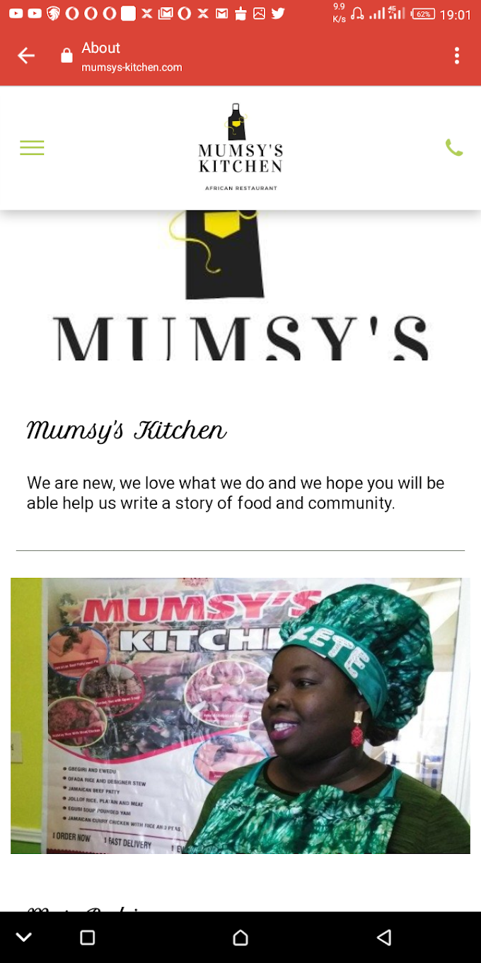 Mumsy's Kitchen: Taste of Africa