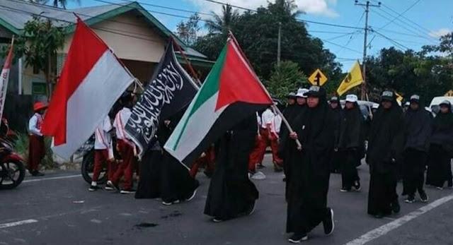 Tak Ada Lagi Toleransi Warga Bawa Bendera HTI, Kapolres Bulukumba : Kami Akan Tindak