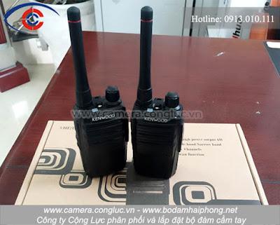 Phân phối bộ đàm Kenwood TK-3307S giá rẻ chất lượng tốt, được nhiều khách hàng sử dụng.