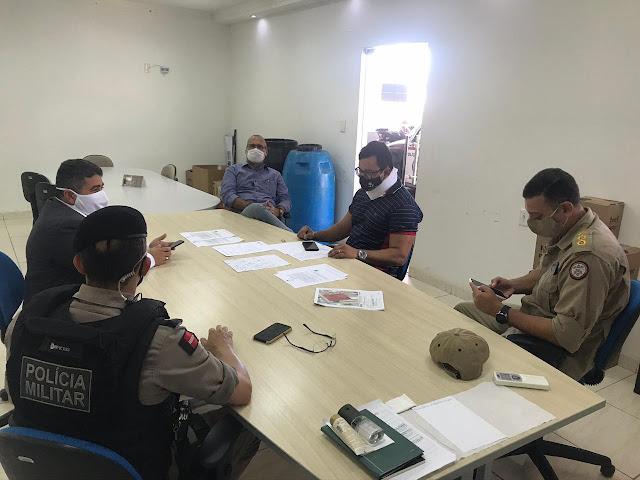 Órgãos de segurança pública se reúnem em Patos para discutir Centro Integrado de Comando e Controle