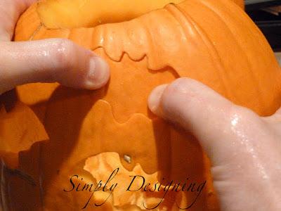 Pumpkin CookieCutter 04 Carving a Pumpkin with Cookie Cutters 14