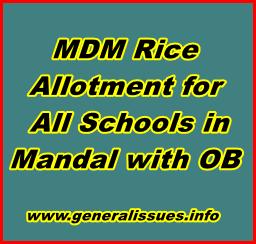 AP MDM rice allocation details