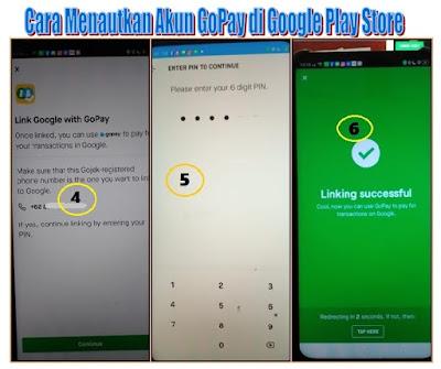 MenambahkanGoPay-Untuk-Pembayaran-Google-Play-store
