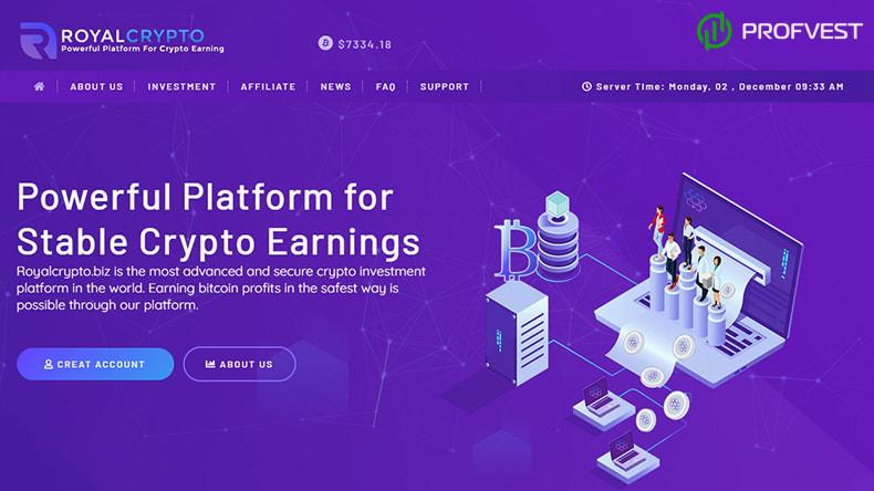 Royal Crypto обзор и отзывы HYIP-проекта
