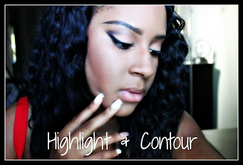 My Highlight & Contour Routine