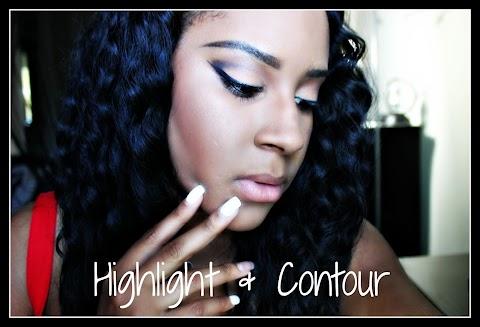 My Highlight & Contour Routine