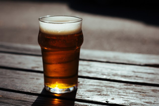 Glass Cup of Beer