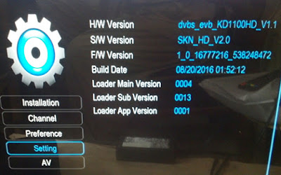 All China Protocol HD Receiver AUTO ROLL PowerVu Software